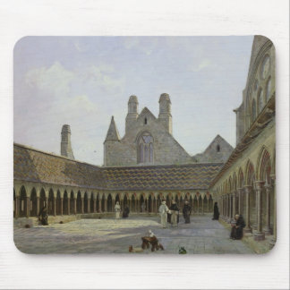 The Cloister of Mont Saint-Michel Mouse Mat