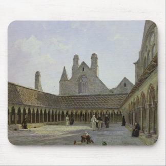 The Cloister of Mont Saint-Michel Mousepads