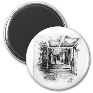 The Cloisters 6 Cm Round Magnet
