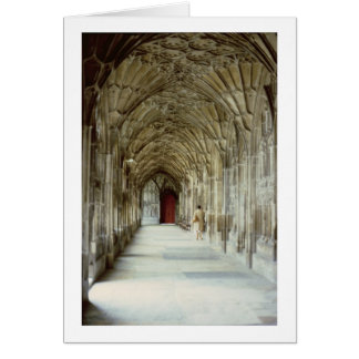 The Cloisters of Gloucester Cathedral, 12th centur Card