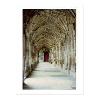The Cloisters of Gloucester Cathedral, 12th centur Postcard