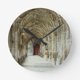 The Cloisters of Gloucester Cathedral, 12th centur Round Clock