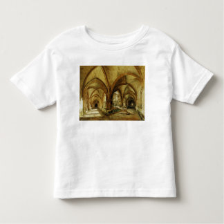 The Cloisters of St. Wandrille, c.1825-30 Toddler T-Shirt