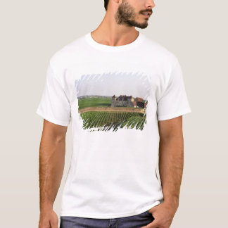 The Clos de Vougeot 16th century monastery and T-Shirt