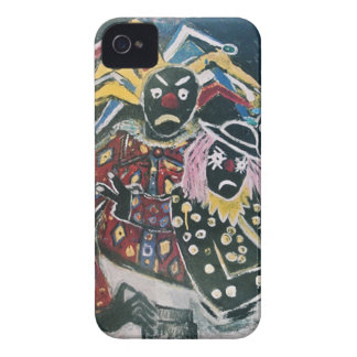 THE CLOWN AND JESTER Case-Mate iPhone 4 CASE