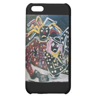 THE CLOWN AND JESTER iPhone 5C COVER
