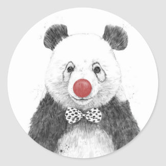 The clown classic round sticker