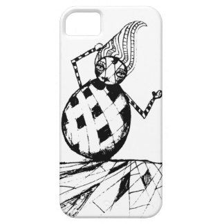 the clown falling barely there iPhone 5 case