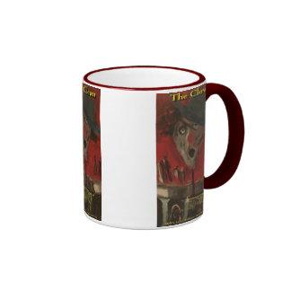 the clown coffee mugs