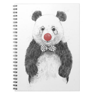The clown notebook