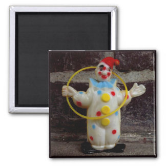The Clown Square Magnet