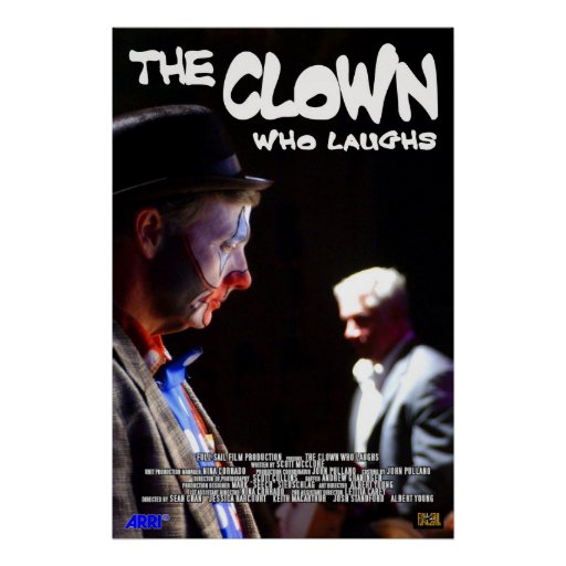 The Clown Who Laughs Poster