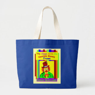 The Clown With the Upside Down Frown Tote Bags