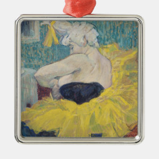 The Clowness Cha-U-Kao in a Tutu, 1895 Christmas Ornament