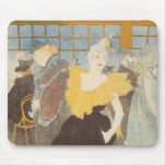 The Clownesse in the Rouge, 1897 Mouse Pad