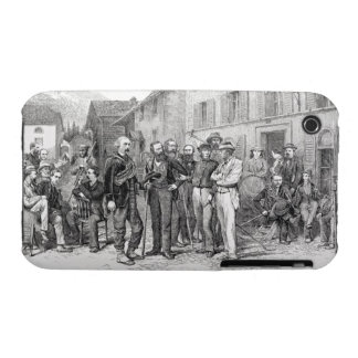 The Club Room of Zermatt in 1864, from 'The Ascent iPhone 3 Case-Mate Cases