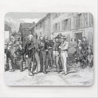The Club Room of Zermatt in 1864, from 'The Ascent Mouse Pad