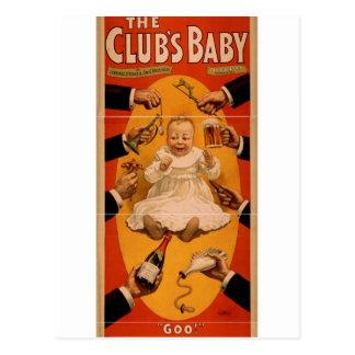The Club s Baby Goo Retro Theater Post Cards