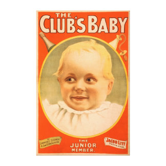 The Club's Baby Theatrical Poster Canvas Print