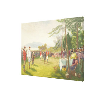 The Club's the Thing, published by Boupil and Co. Gallery Wrap Canvas