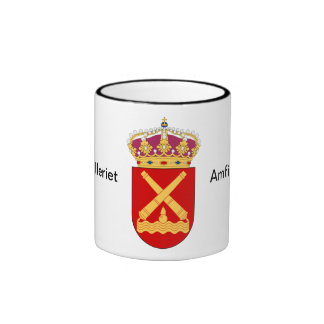 The coast artillerus, Amfibiekåren. Ringer Mug