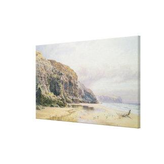 The Coast of Cornwall Canvas Print