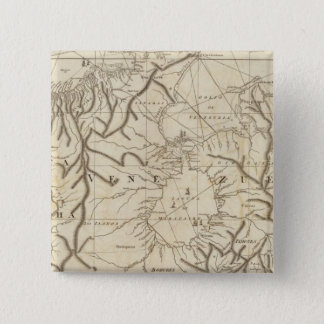 The coast of Tierra Firma from Cartagena 15 Cm Square Badge