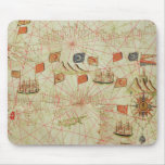 The Coast of Turkey and Cyprus Mouse Pad