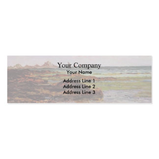 The Coastline in Brittany by Maxime Maufra Double-Sided Mini Business Cards (Pack Of 20)