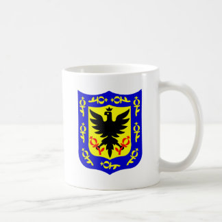 The coat of arms of Bogota, Colombia. Coffee Mug