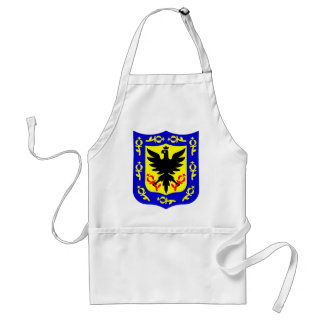 The coat of arms of Bogota, Colombia. Standard Apron