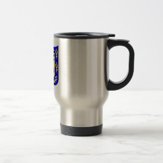 The coat of arms of Bogota, Colombia. Travel Mug