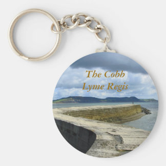 The Cobb, Lyme Regis Key Ring