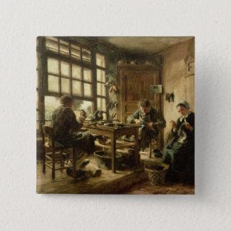 The Cobblers, 1880 15 Cm Square Badge