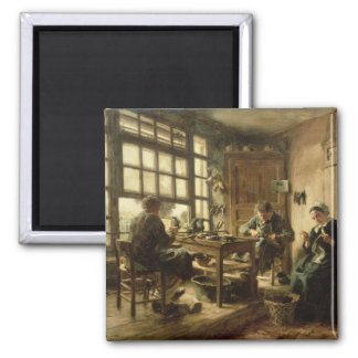 The Cobblers, 1880 Square Magnet