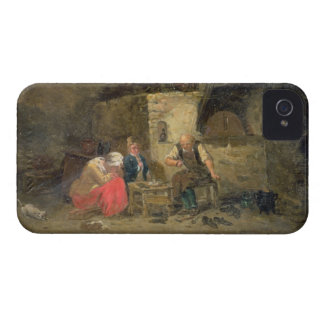 The Cobbler's (oil on panel) (pair of 134462) iPhone 4 Case-Mate Cases