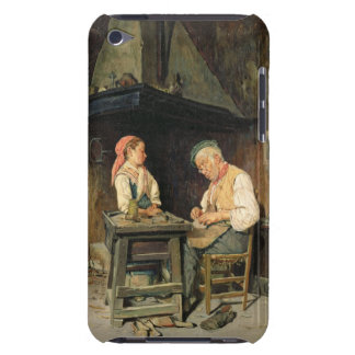 The Cobbler's Shop, 1874 (oil on panel) iPod Touch Cover