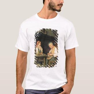 The Cobbler's Shop, 1874 (oil on panel) T-Shirt