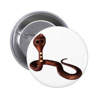 The Cobra, Deadly Snake Pinback Button