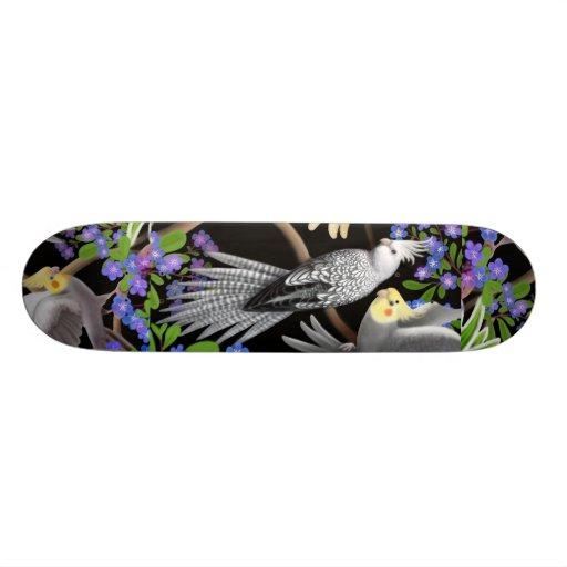 The Cockatiel Skateboard