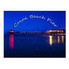 The Cocoa Beach Pier, Cocoa Beach, Florida, U.S.A. Postcard