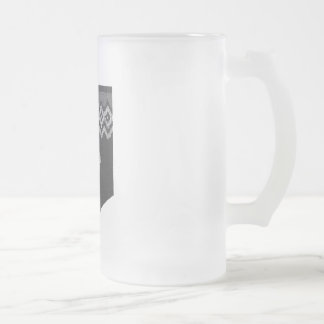 The Code Of Sheep - Icelamb Frosted Glass Mug
