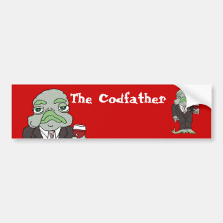 The Codfather Bumper Sticker