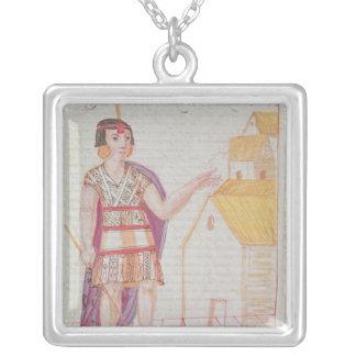 The Codice Murua Silver Plated Necklace
