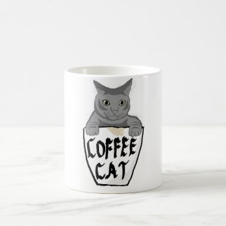 The Coffee Cat Coffee Mug