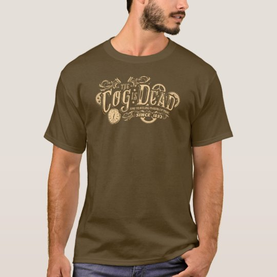 The Cog is Dead Vintage Logo T-Shirt