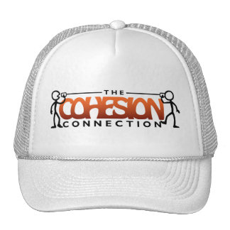 The Cohesion Connection White Trucker Hat