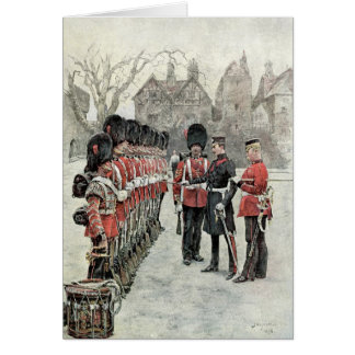 The Coldstream Guards at the Tower Card