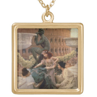 The Coliseum, 1896 (oil on panel) Jewelry
