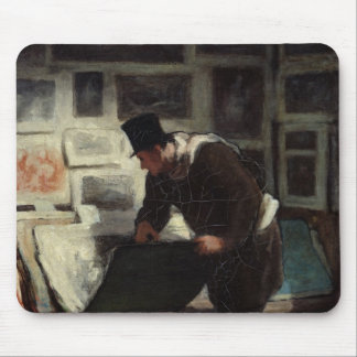 The Collector of Engravings, c.1860-62 Mouse Mat